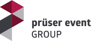 Prüser Event Group Logo Location